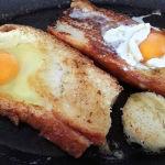Francy toast Cottura uova nel pane