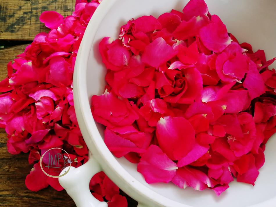 Preparazione petali