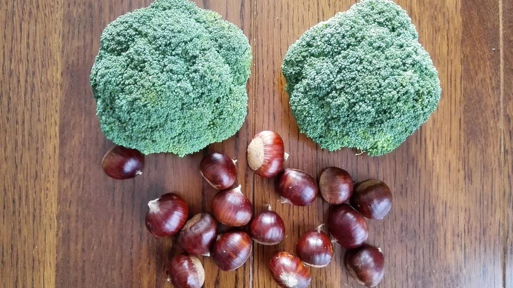Broccoletti e castagne