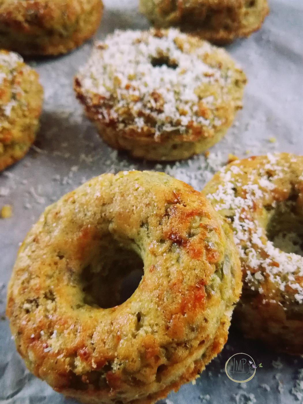 Polpettone donuts con spolverata di grana