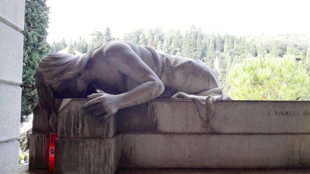 Cimitero di Staglieno, particolare