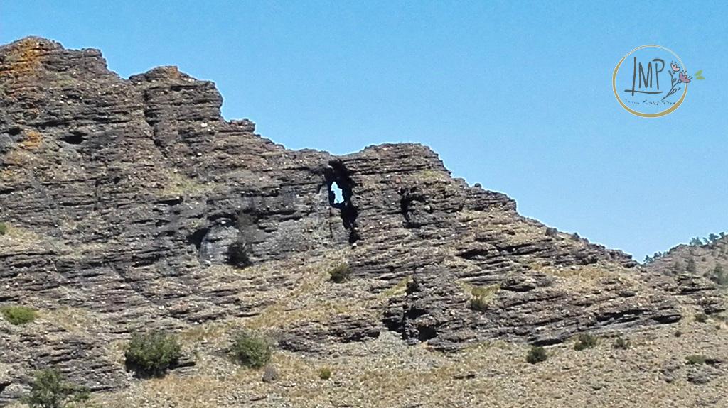 La Val Gargassa e i suoi canyon lunari Il Balcone della Signora