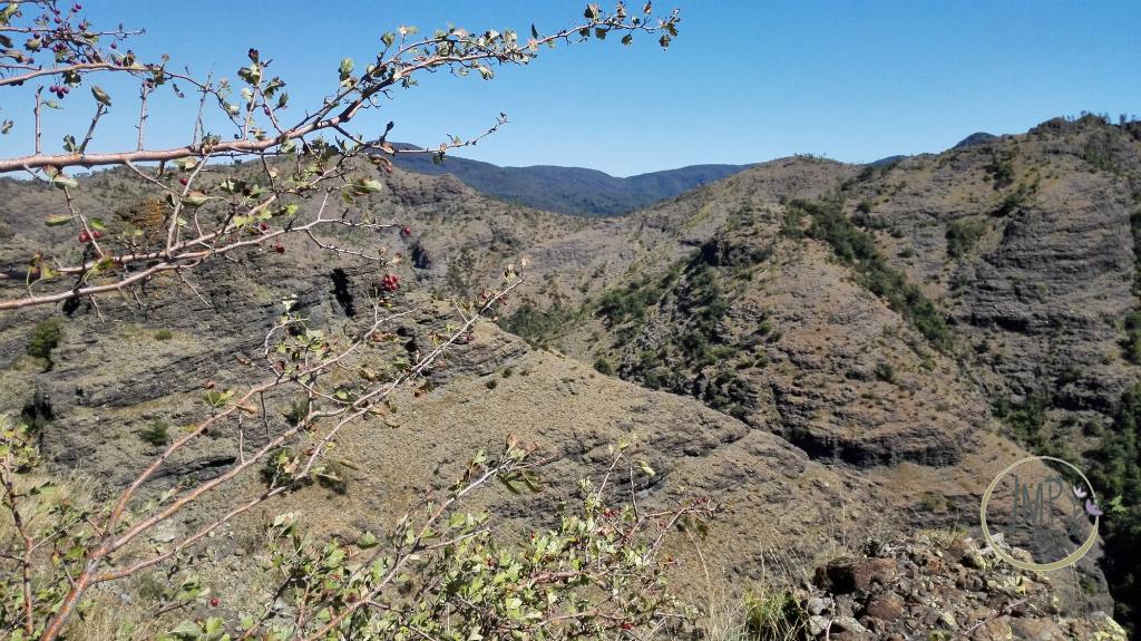 La Val Gargassa e i suoi canyon lunari Panorama
