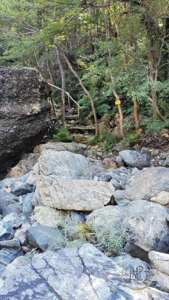 La Val Gargassa e i suoi canyon lunari Verso Vereira