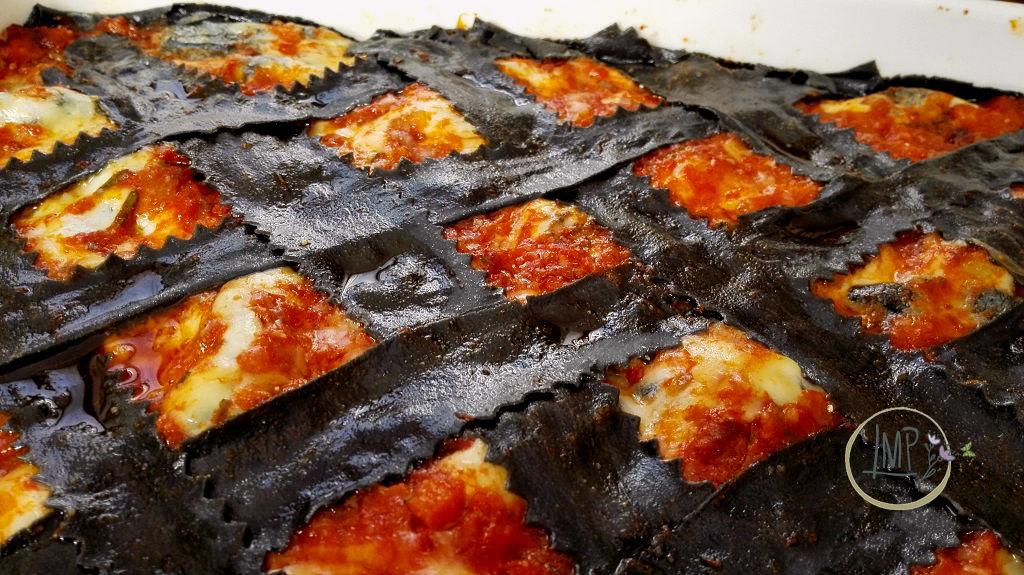 Lasagne al forno della Befana, Dettaglio della pasta cotta