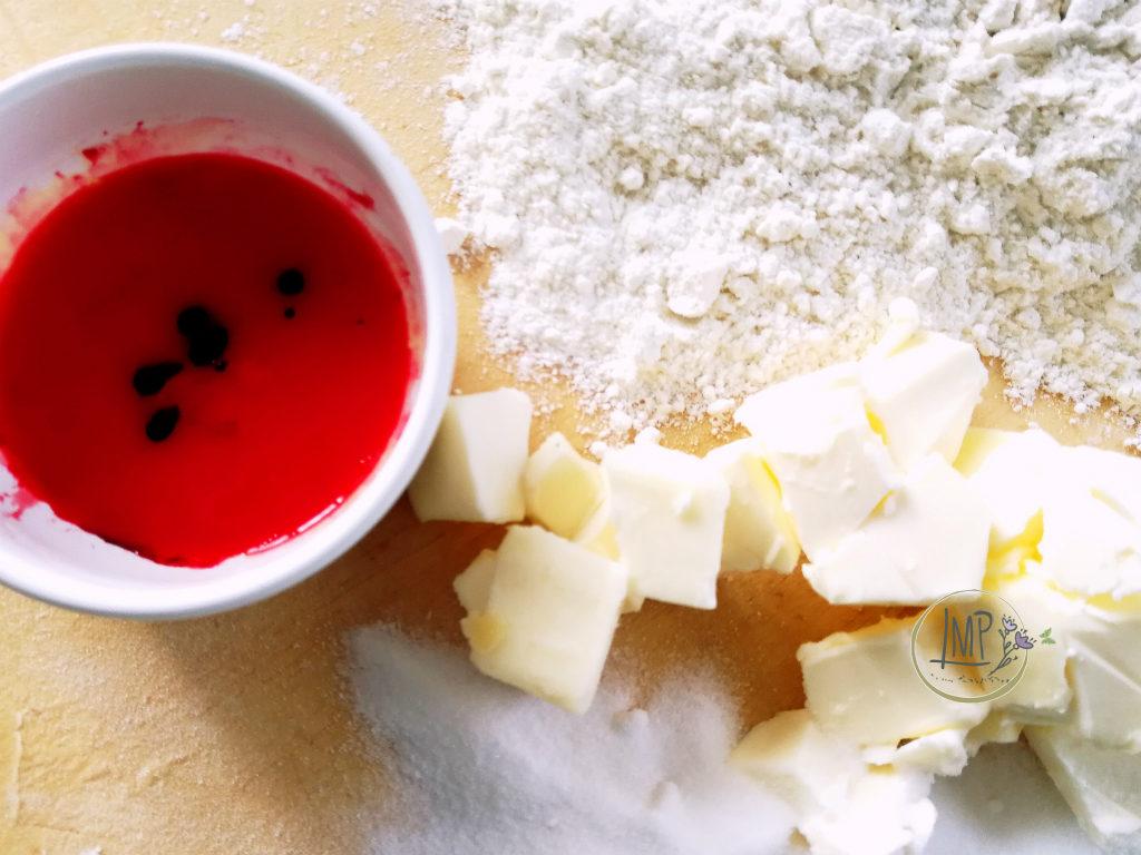 Canestrelli genovesi ingredienti per i colorati