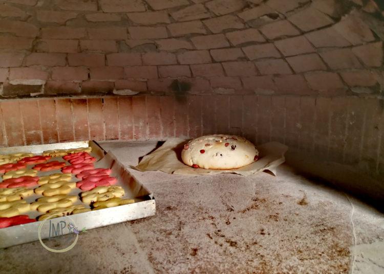 Canestrelli genovesi cottura forno a legna