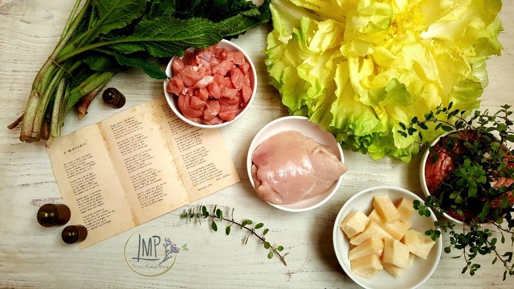 Ravioli genovesi Ingredienti per il ripieno