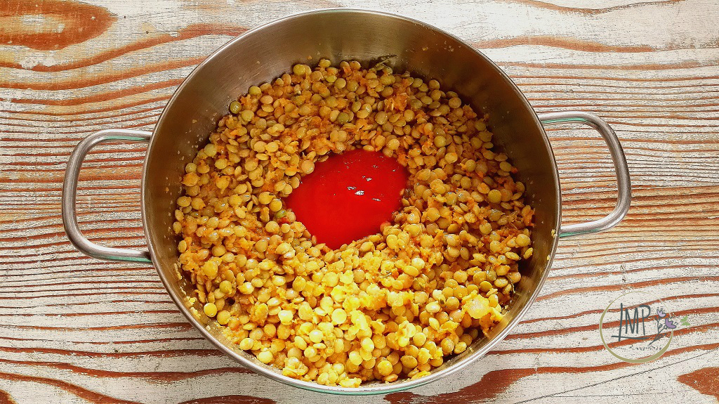 Minestra di lenticchie e lasagnette la maggiorana persa for Lenticchie d acqua