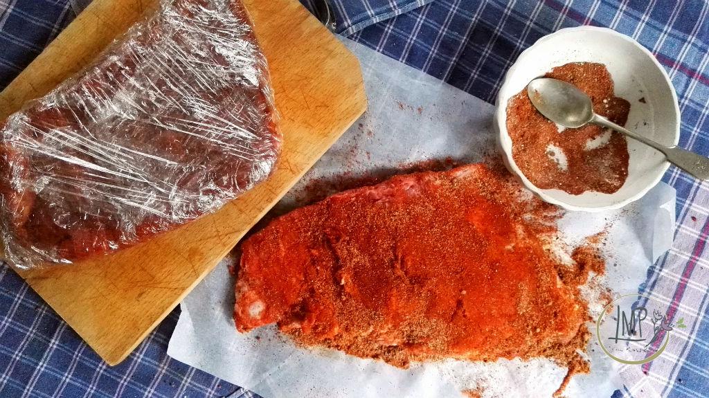 BBQ Ribs al forno dal Texas all' Italia Marinatura a secco preparazione carni