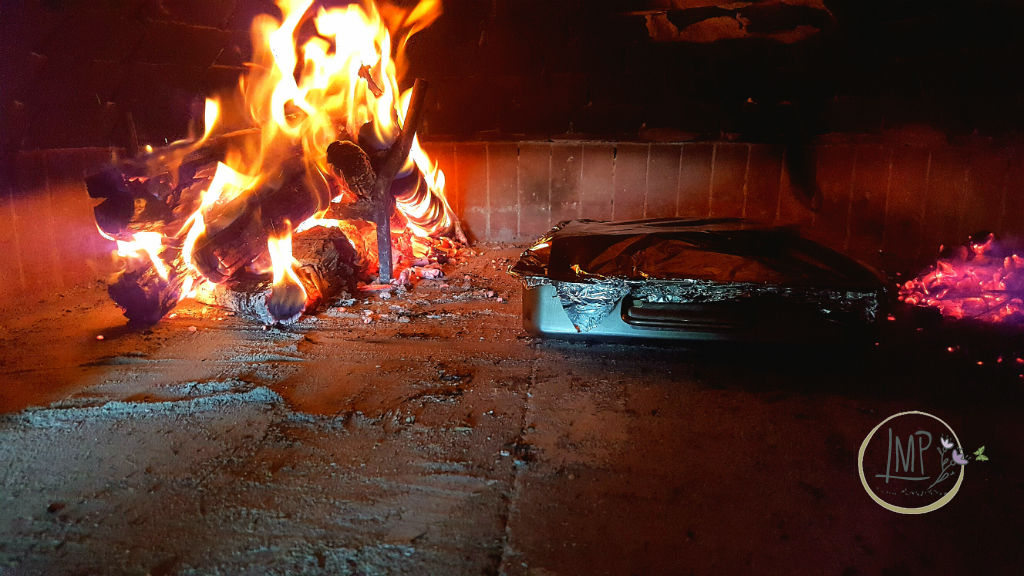 BBQ Ribs al forno dal Texas all' Italia nel forno a legna con fuoco e braci