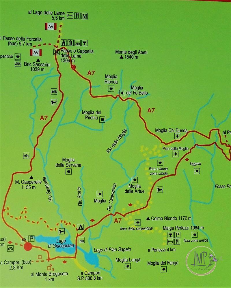 Parco Aveto il Lago di Giacopiane Anello delle Moglie