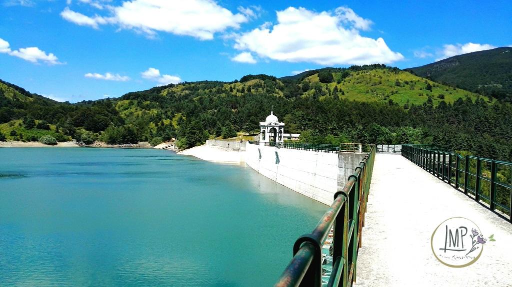 Parco Aveto il Lago di Giacopiane diga