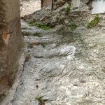 Crosa di Liguria sentiero scosceso