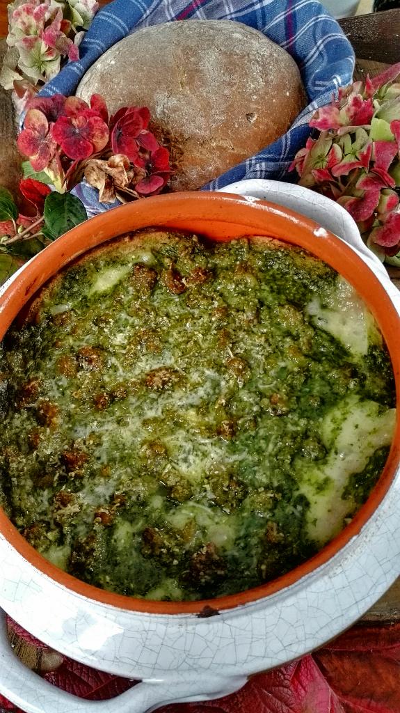 Zuppa Valdostana alla Portofino zuppa e pan ner