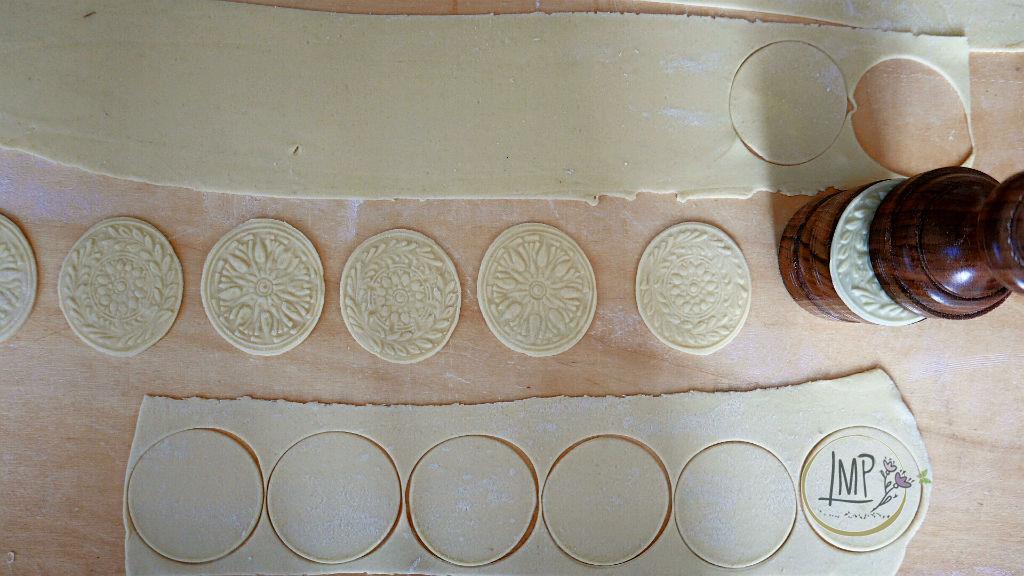 Corzetti al pesto corzetti con i due decori