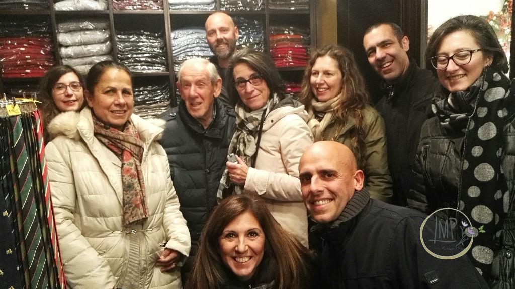 Capodanno a Pissimbono foto con enzo Garinei