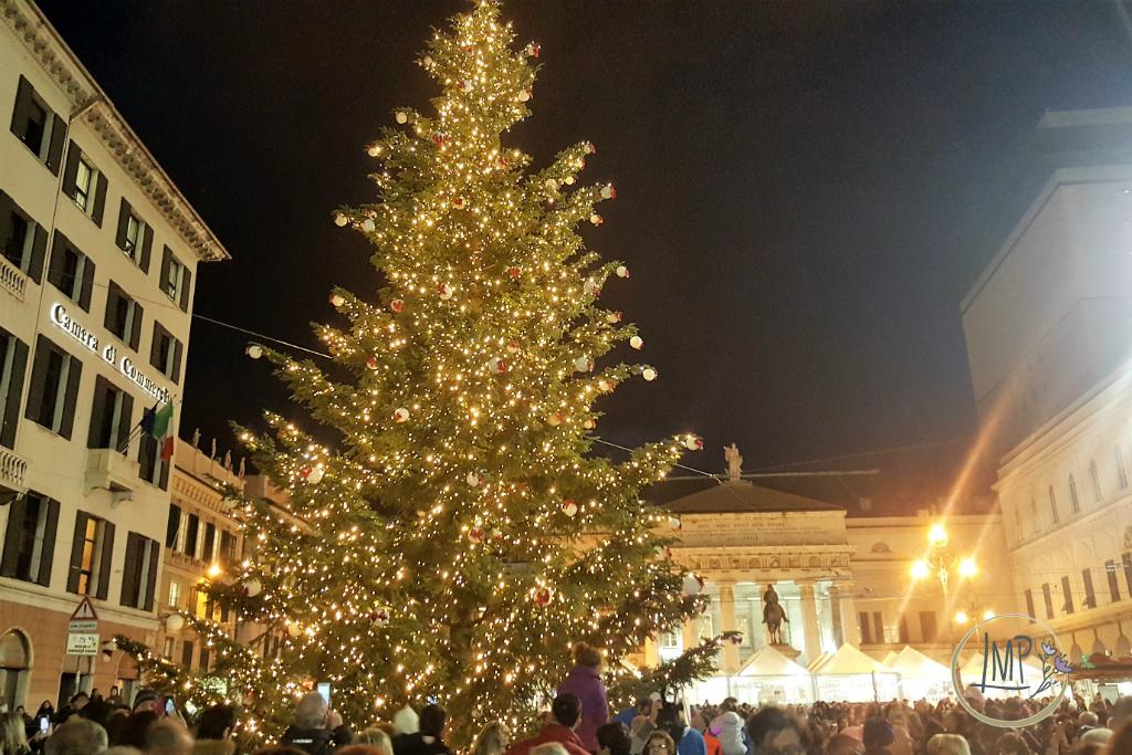 Natale a Genova Albero festa
