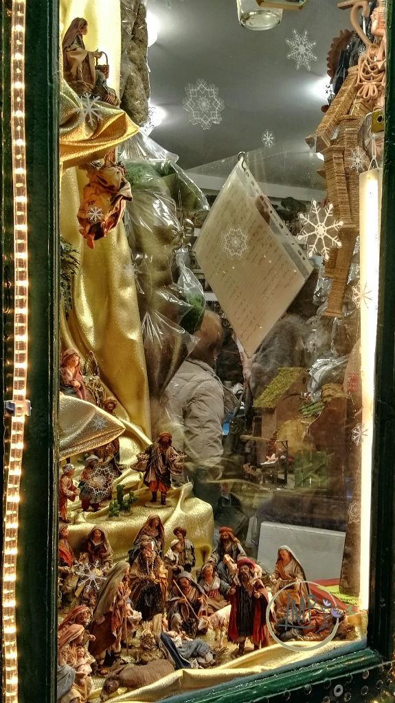 Natale a Genova Botteghetta presepe