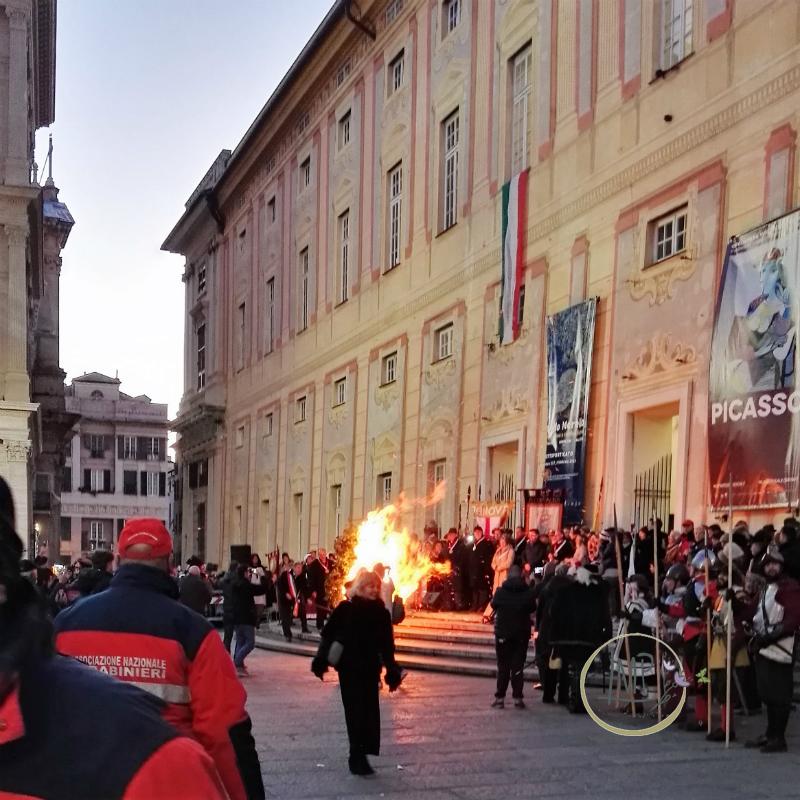Natale a Genova Confeugo fiamma