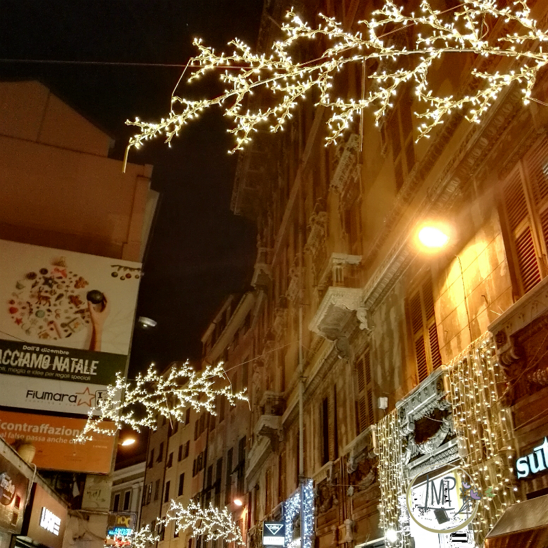 Natale a Genova Illuminazione centro