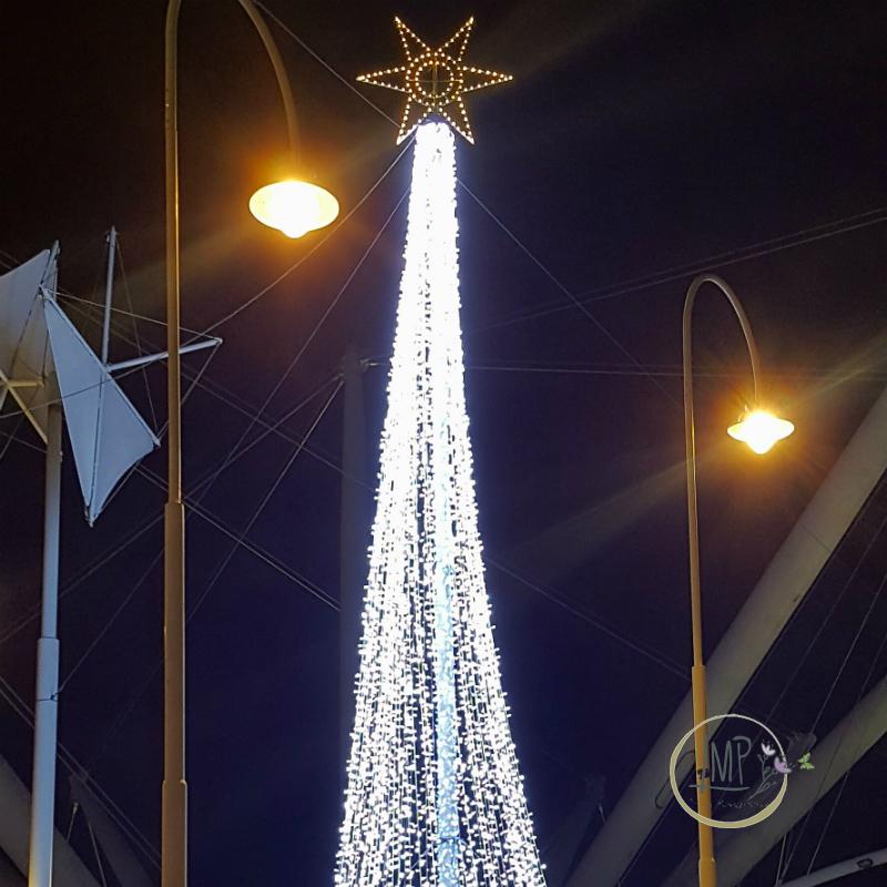Natale a Genova Luci albero