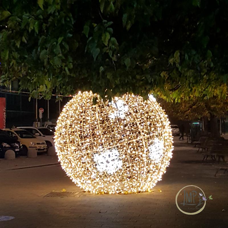 Natale a Genova Luci palla
