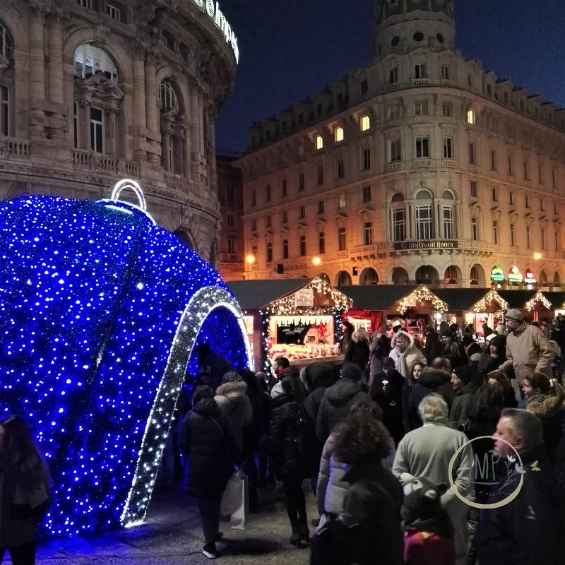 Natale a Genova Mercato di Natale bancarelle
