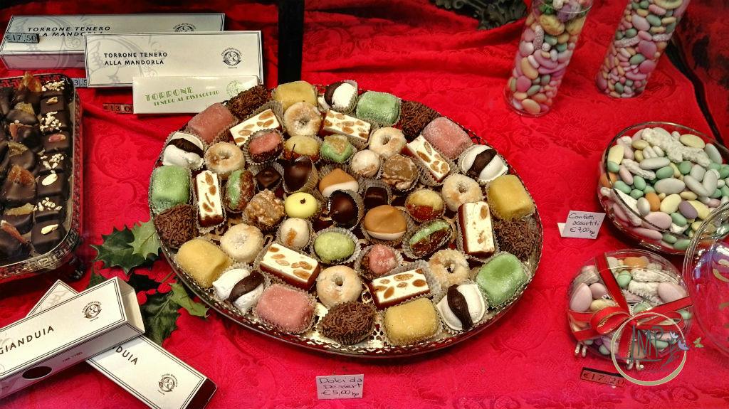 Natale a Genova Romanengo dolci