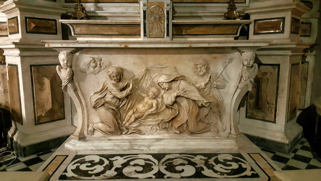 Presepi di Genova Chiesa Maddalena Santa Paola Romana
