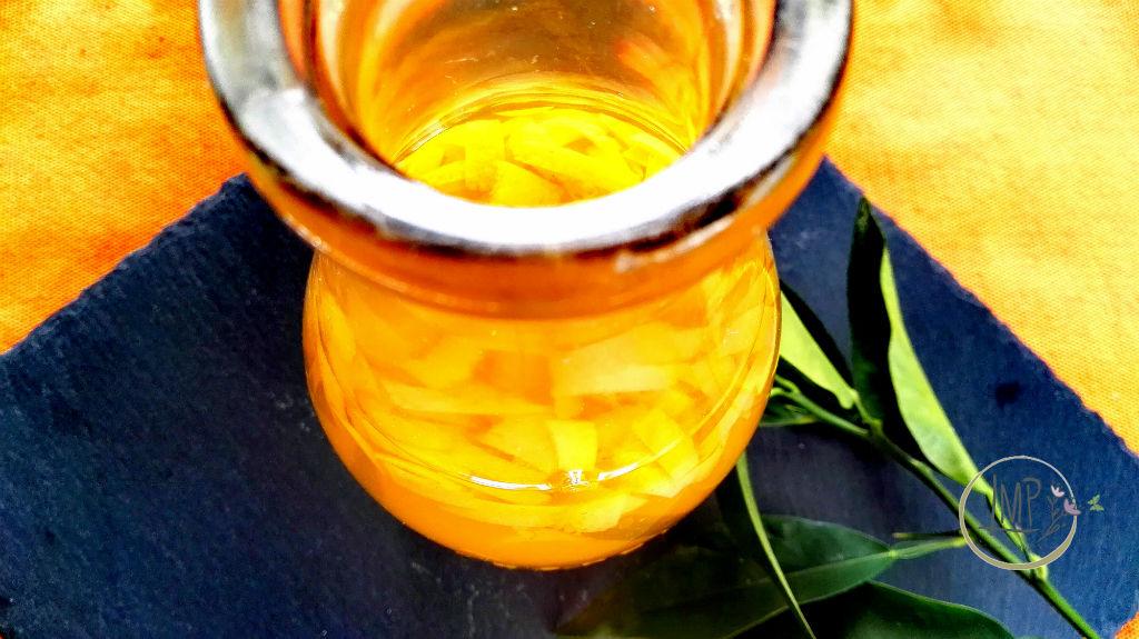 Curacao ricetta macerazione bucce arancia