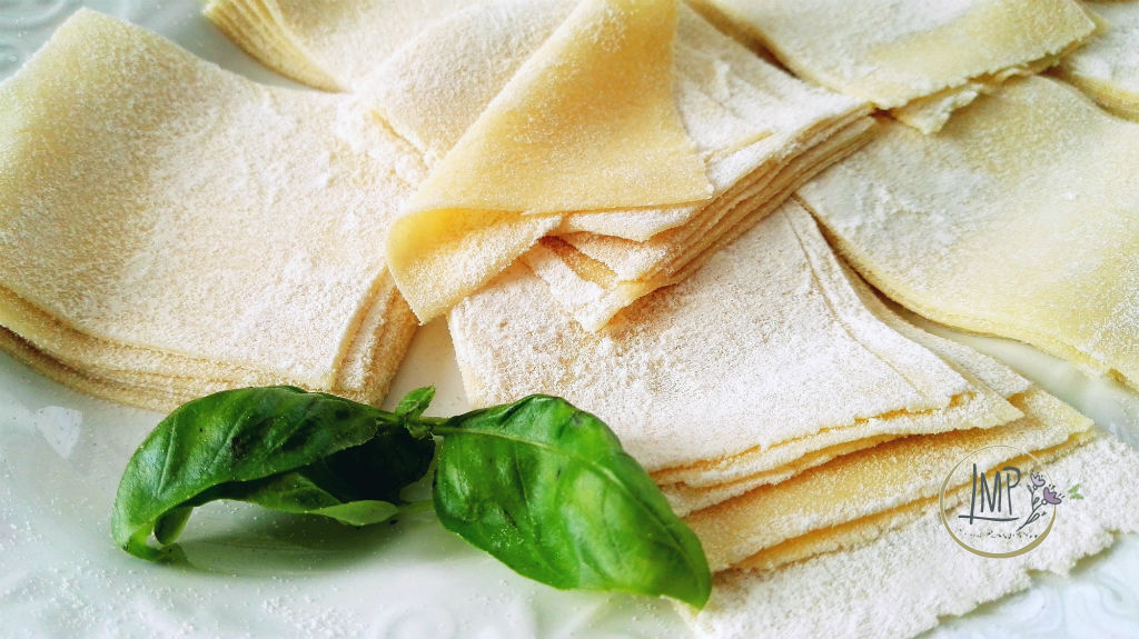 Mandilli de sea lasagne in evidenza