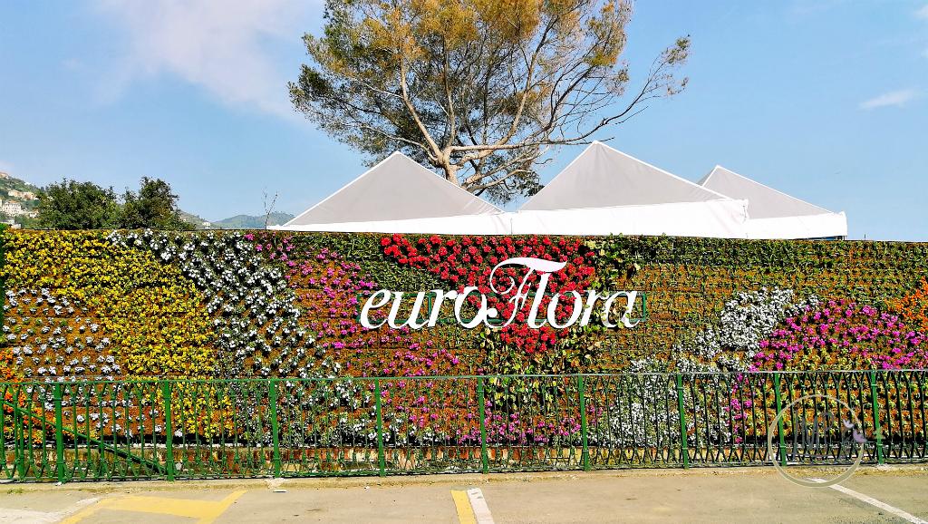 Euroflora 2018 Entrata esposizione