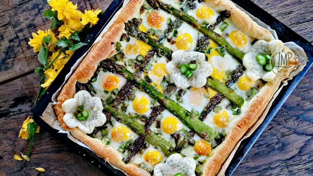 Decorazioni Torte Salate : Torta salata con asparagi la maggiorana persa