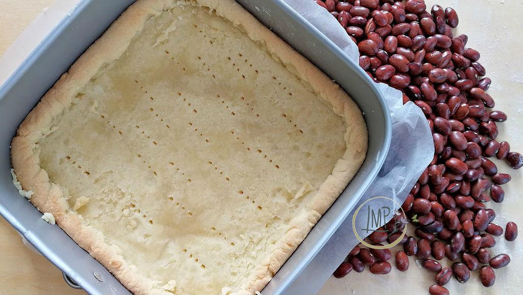 Crostata al cioccolato con salsa di fragole Crostata2 prima cottura