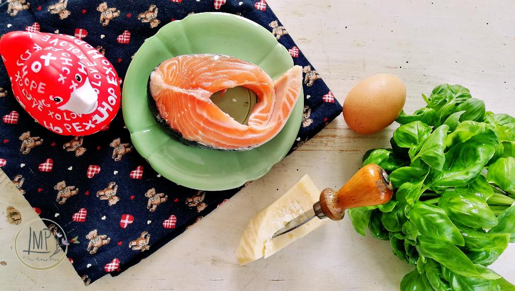 Margherite di salmone al pesto1 ingredienti
