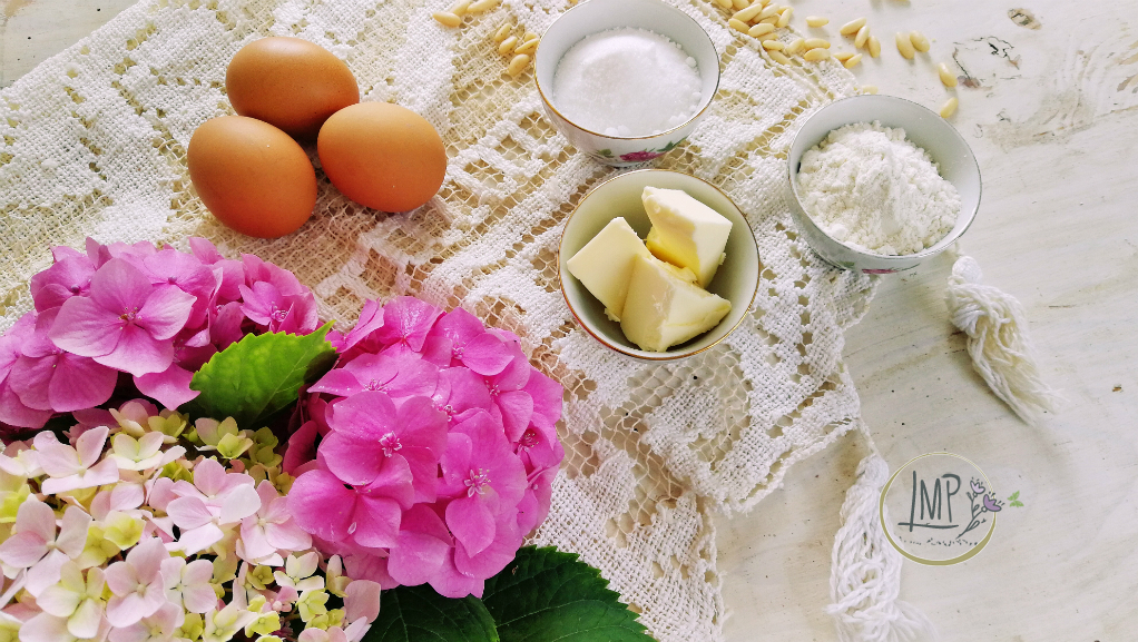 Torta della nonna ingredienti