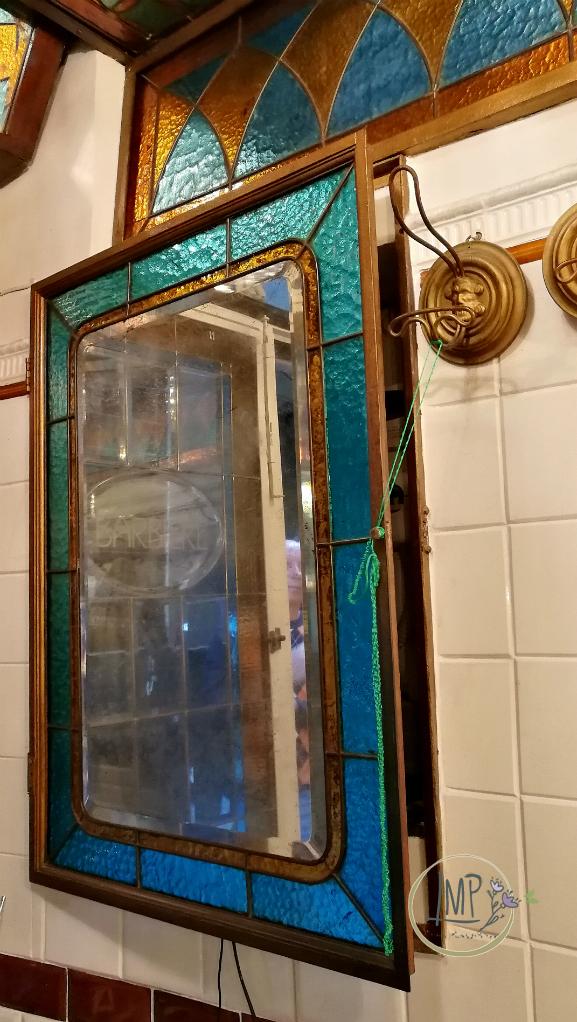 Antica barberia Giacalone specchio