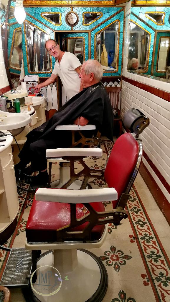 Antica barberia Giacalone sedie
