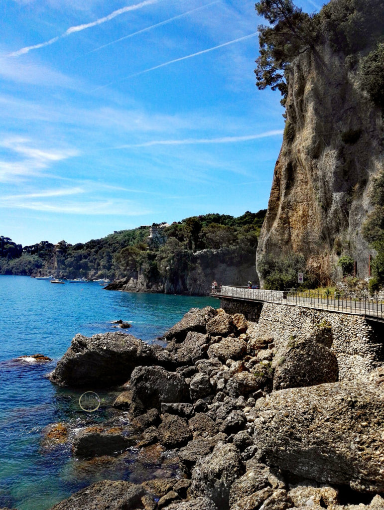 Pino Carega strada per Portofino