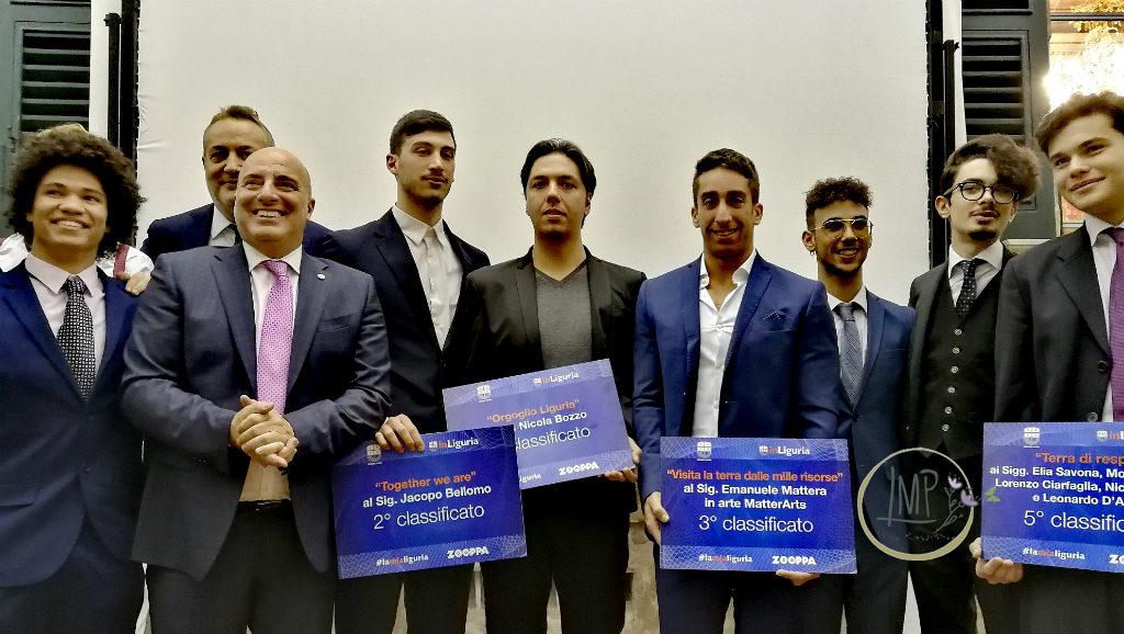 #lamialiguria 2018 foto di gruppo con Assessore Berrino