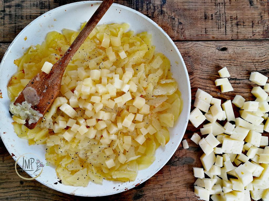Frico friulano con formaggio
