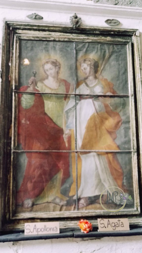 Santa Lucia di Toirano Sante Apollonia e Agata