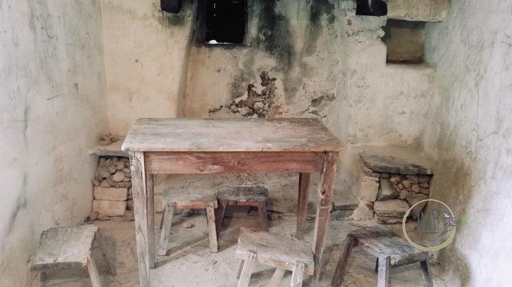 Santa Lucia di Toirano stanza dell'eremita