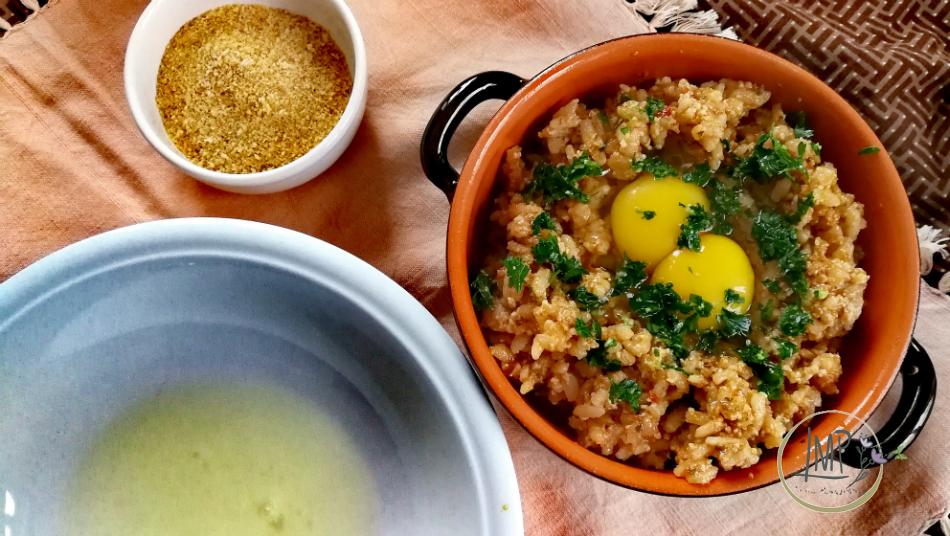 Granatine di riso ingredienti preparati