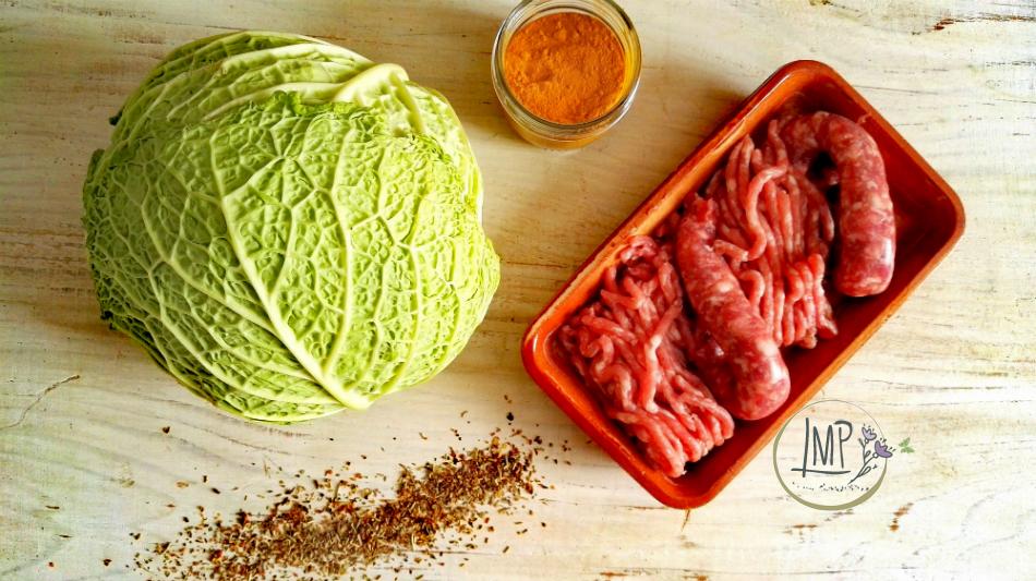 Polpette con cavolo verza ingredienti