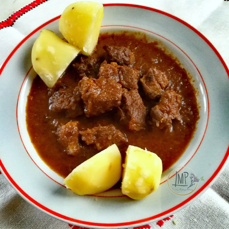 Gulasch ungherese con patate