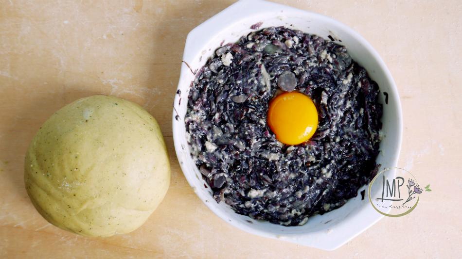 Ravioli radicchio gorgonzola ripieno ravioli