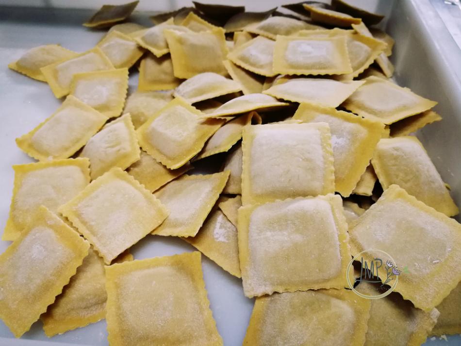 Arrosticini abruzzesi ravioli di carciofi