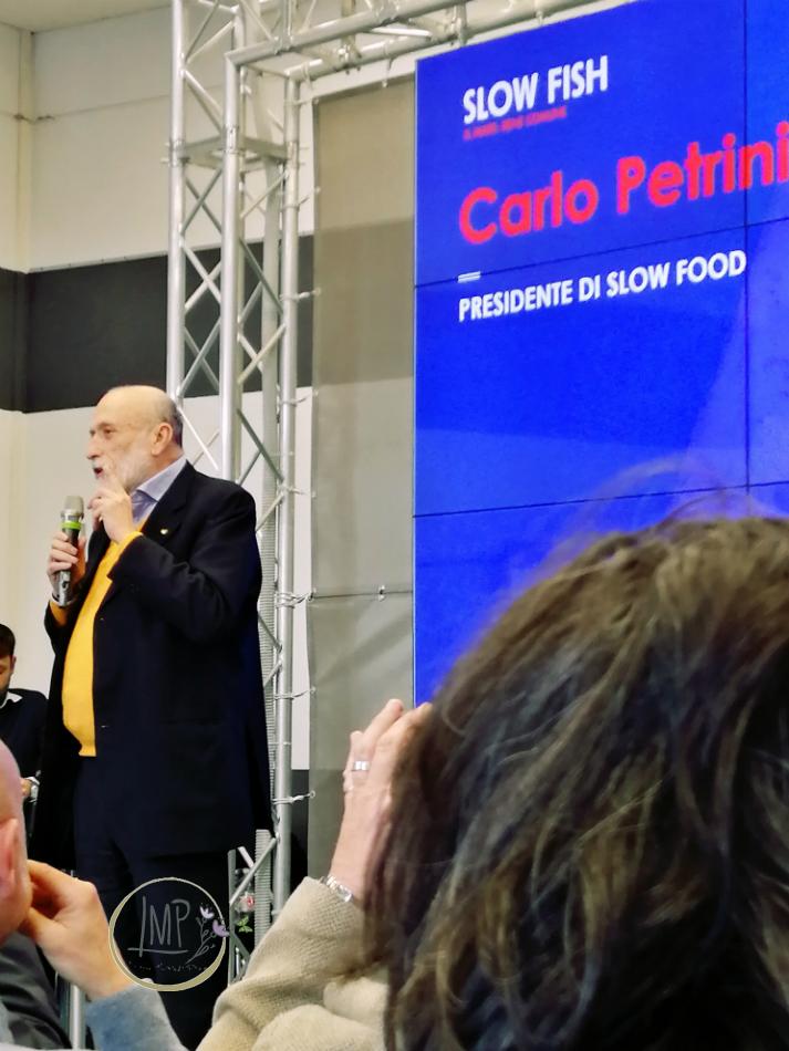 Mare bene comune slow fish 2019 Carlo Petrini